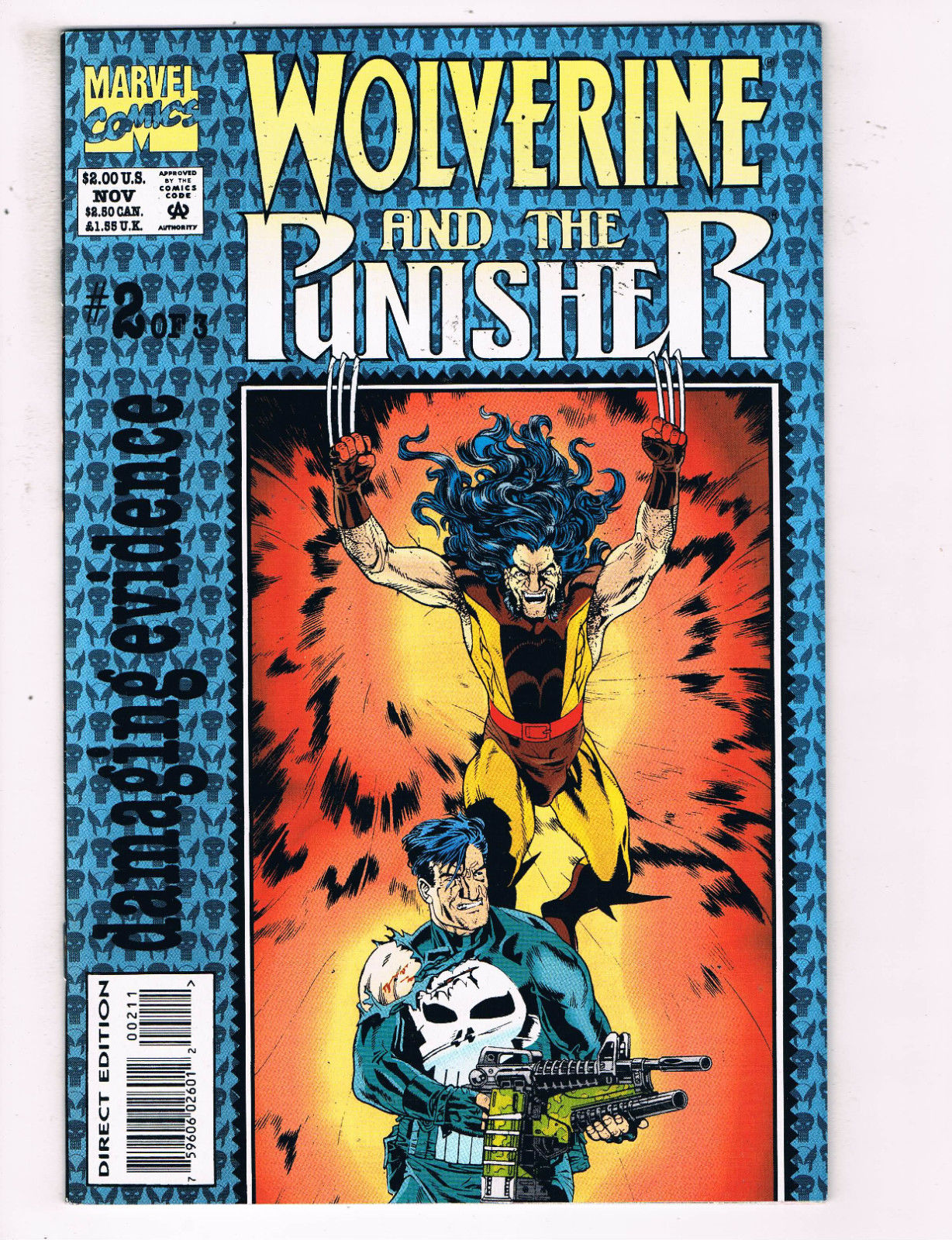 Marvel VF Comics Book Wolverine #2 Vol 5