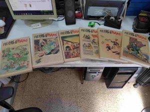 Flechas y Pelayos, edicion facsimil de 6 tomos