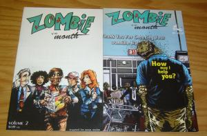 Zombie of the Month #1-2 VF/NM complete series - kick save comics set lot