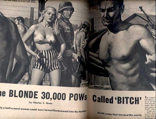 BATTLEFIELD 1959 MAY-ILSE KOCH STORY-WEIRD! FN