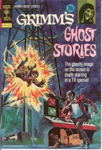 GRIMMS GHOST STORIES 10 VF-NM    July 1973 COMICS BOOK