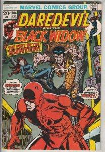 Daredevil #104 (Nov-73) VG/FN+ Mid-Grade Daredevil, Black Widow