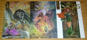 More Than Mortal: Sagas #1-3 VF/NM complete series - liar comics set lot 2