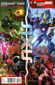 Avengers & X-Men: Axis #3 VF/NM; Marvel | save on shipping - details inside