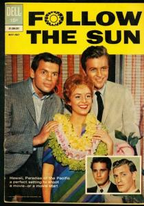FOLLOW THE SUN #1-DELL-1962-PHOTO COVER VG