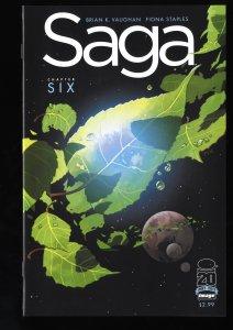 Saga #6 NM+ 9.6