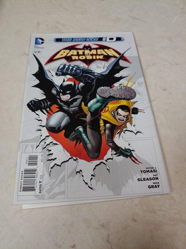 Batman and Robin #0 (2012)