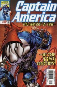 CAPTAIN AMERICA (1998 MARVEL) #18 NM- AGSRK3