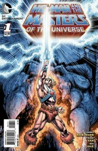 He-Man and The Masters of The Universe #1 (2012) DC NEW 52 NM B2.