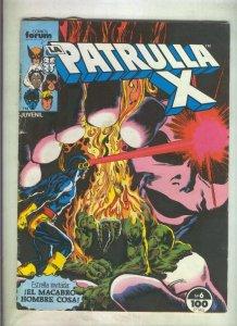 La Patrulla X volumen 1 numero 006: Demonio (numerado 3 en trasera)