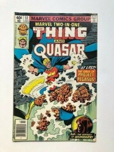 MARVEL The THING and QUASAR #53 July 1979 GOOD/VG (A284)