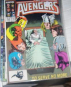 Avengers # 280  (june 1985, Marvel) captain marvel  visuin  jarvis antman