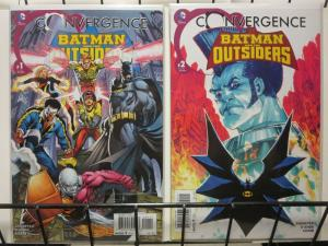 CONVERGENCE BATMAN AND THE OUTSIDERS (2015) 1-2