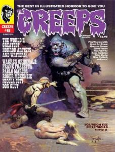THE CREEPS #6 COMIC HORROR MAGAZINE
