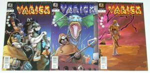 Varick: Chronicles of the Dark Prince #1-3 VF/NM complete series - q comics set