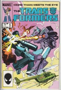 Transformers, The #6 (Jul-85) NM- High-Grade Transformers (Optimus Prime)