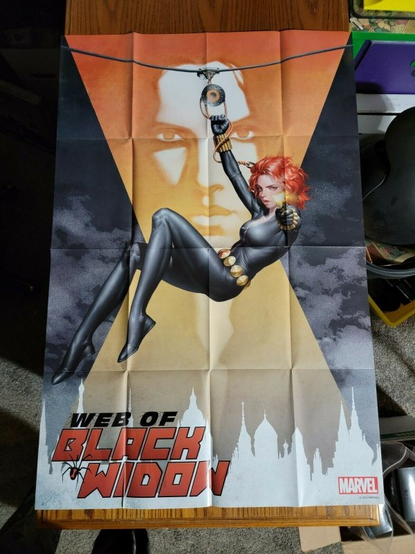 LARGE 36 x 24 Sexxy Web of Black Widow Promo Poster 2019