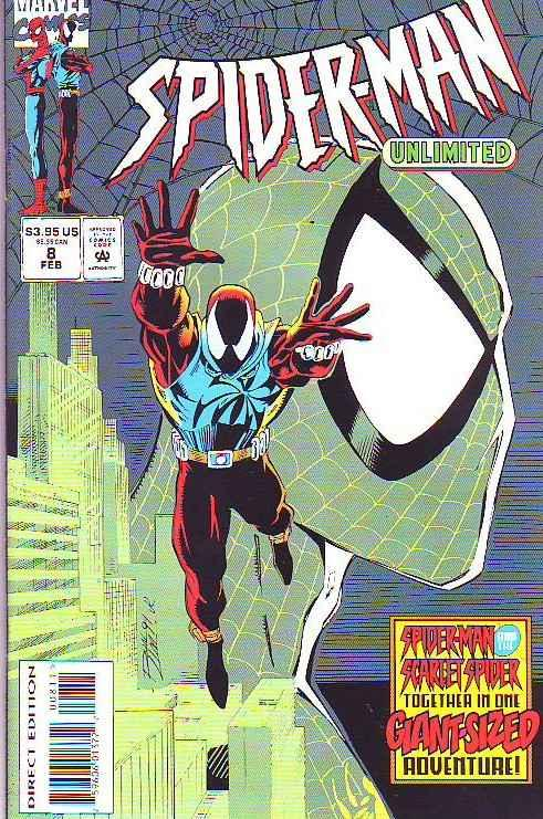 Spider-Man Unlimited #8 (Feb-94) NM/NM- High-Grade Spider-Man