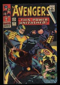 Avengers #29 FN+ 6.5 Marvel Comics Thor Captain America