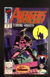 Avengers Spotlight #32 (1990)