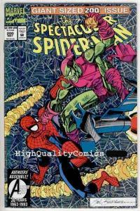 SPECTACULAR SPIDER-MAN #200, NM+, Green Goblin, Holofoil, more SM in store