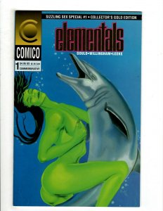 12 First Comics Elementals 1 Jon Sable 51 54 55 1 2 3 Blackmask 1 Hero + HG4