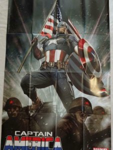 CAPTAIN AMERICA Promo Poster, 24 x 36, 2013, MARVEL Unused more in our store 290
