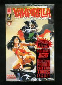VAMPIRELLA OF DRAKULON #3 SEALED W/PROMO CARD NM