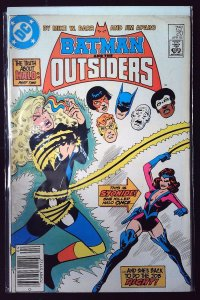 Batman and the Outsiders #20 (1985)