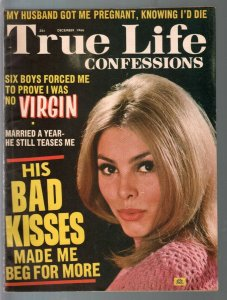 True Life Confessions 12/1966-scandals-exploitation-posed pix-Nurses Are Easy-VG