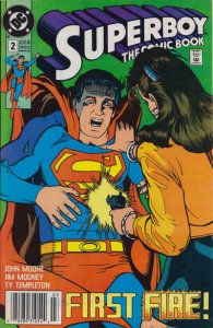 Superboy (2nd Series) #2 (Newsstand) FN; DC | save on shipping - details inside