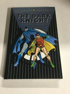 Archive Editons Batman The Dark Knight Volume 3 Nm Near Mint HC DC Comics TPB