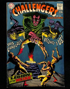Challengers Of The Unknown #62