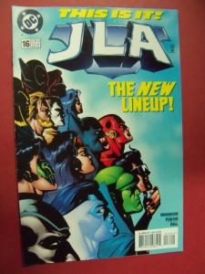 JUSTICE LEAGUE OF AMERICA  #16 VF/NM OR BETTER DC COMICS