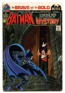 Brave And The Bold  #93 1970 Batman- House of Mystery Neal Adams