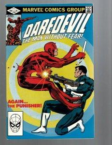 Daredevil # 183 NM- Marvel Comic Book Bullseye Defenders Hell's Kitchen TW67