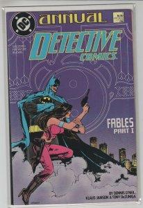 DETECTIVE COMICS ANNUAL (1988 DC Comics) #1 VF+