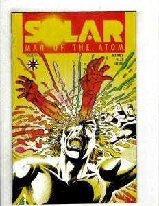 Solar Man Of The Atom # 2 VF Valiant Comic Book Pre-Unity Shadowman Rai YY10