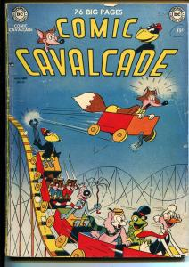 Comic Cavalcade #40 1950-Fox & Crow-Dodo & Frog-Nutsy Squirrel-15¢-VG-