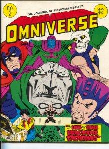 Omniverse #2 1979-Avengers-Dr Doom-Jack Kirby-Jerry Ordway-Sherlock Holmes-VG