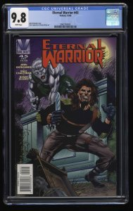 Eternal Warrior #45 CGC NM/M 9.8 White Pages