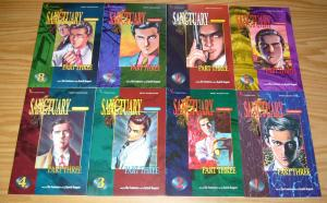 Sanctuary part 3 #1-8 VF/NM complete series - viz manga 2 3 4 5 6 7 comics set