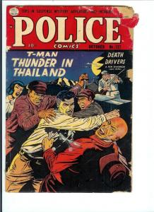 Police Comics #127 - Golden Age - (Good) Oct. 1953