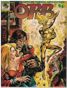 Orb #6 Adventure- Kung Fu- Superheroes- SCIFI Gene Day Peter HSU Art Cooper 1976