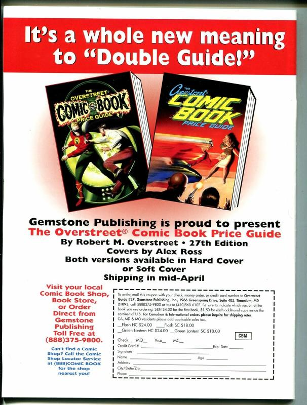 Comic Book Marketplace #45 1997-Gemstone-Murphy Anderson-Justice League-VF