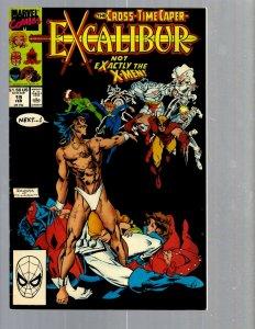 12 Marvel Comics Excalibur #19 26 42 93 98 99 105 107 108 110 111 114 EK17