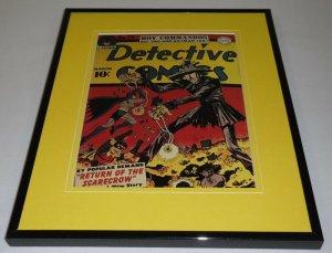 Detective Comics #73 DC Framed 11x14 Repro Cover Display Batman Robin Scarecrow