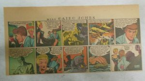 Miss Cairo Jones Sunday by Bob Oksner from 2/24/1946 Size: 7.5 x15 inches GGA