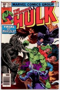 Incredible Hulk #253 NM+ 9.6  SUPER HIGH GRADE - UNREAD!