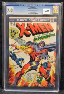 X-Men #91 CGC 7.0